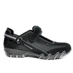 ALLROUNDER BY MEPHISTO NIRO WOMEN'S TREKKING SHOES SUEDE LEATHER BLACK