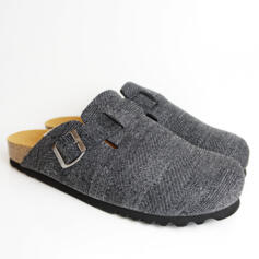 DR.SCHOLL AMIATA GREY MAN SLIPPERS WITH SIDE BUCKLE
