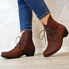 LOINTS OF HOLLAND BOOTS RUBBER HEEL NUBUCK GRAINED LEATHER BURGUNDY