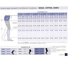 SIGVARIS COTTON AD COMPRESSION STOCKINGS CALF CL2 CLOSED TOE NATURE
