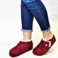DR. SCHOLL CHEIA WOMEN'S SLIPPERS WITH FUR MEMORY FOOTBED BORDEAUX