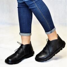 ICHIKA LEATHER' SHOES FLEXIBLE FOOTBED BLACK