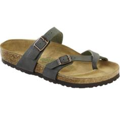 BIRKENSTOCK MAYARI WOMEN'S THONGS SLIPPERS EMERLADGREEN