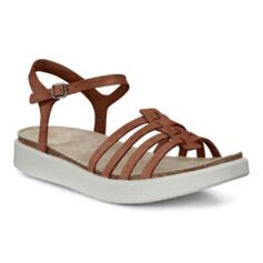 ECCO SANDALS CORKSPHERE FRESH AND COMFORT CORK SOLE LEATHER