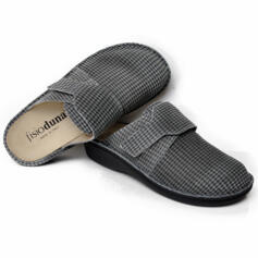DUNA WOMEN'S COMFORTABLE SLIPPERS FANTASY GREY
