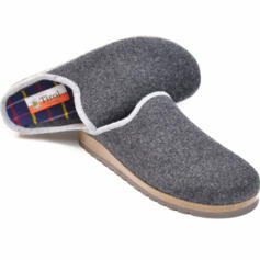 TIROL MOLVENO MEN'S SLIPPERS ANATOMICAL FOOTBED CORK AND MERINOS WOOL