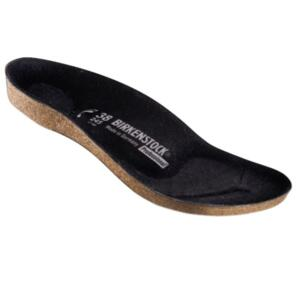BIRKENSTOCK MEN'S AND WOMEN'S INTERCHANGEABLE FOOTBED SUPER-BIRKI BLACK
