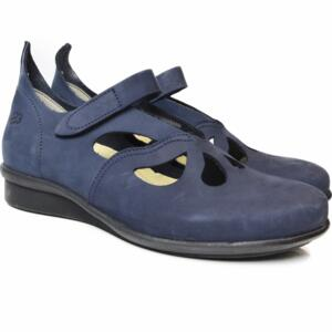 LOINTS OF HOLLAND WOMEN'S SHOES HEVEA G-WIJDTE BLUE