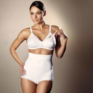 VENUS SHAPING GIRDLE MANUELA WHITE-CHAMPAGNE-NERO