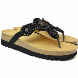 4d4ce085e2d DR. SCHOLL WOMEN S FLIP FLOPS WITH BEADS ZARINA BLACK