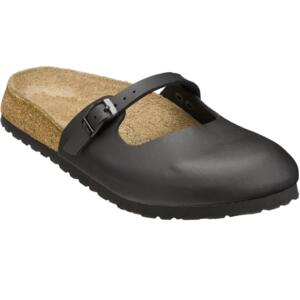 BIRKENSTOCK MARIA WOMEN'S FLIP FLOPS CLOSED TOE BLACK