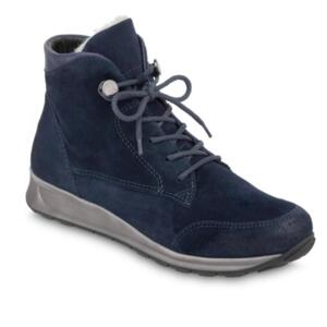 ARA OSA-S BLAU WARM WOMEN'S DARK BLUE ANKLE BOOT