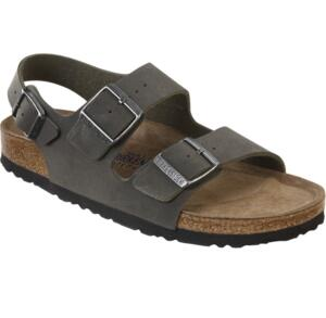 BIRKENSTOCK MILANO WOMEN'S SANDALS SOFT FOOTBED EMERALDGREEN