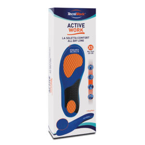 TECNIWORK ACTIVE WORK UNISEX INSOLE COMFORT ALL DAY LONG