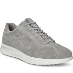 ECCO AQUET WOMEN'S COMFORTABLE CASUAL SNEAKER LIGHT GREY