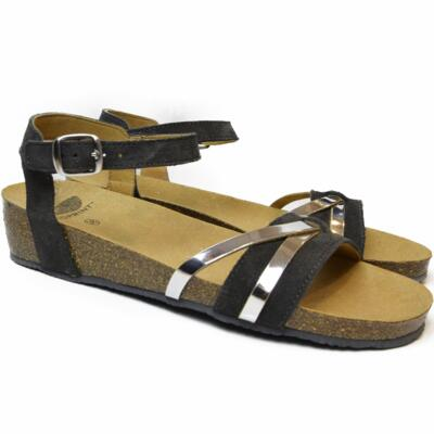 DR. SCHOLL WOMEN'S SANDALS WITH STRAPS KELLY GRAY