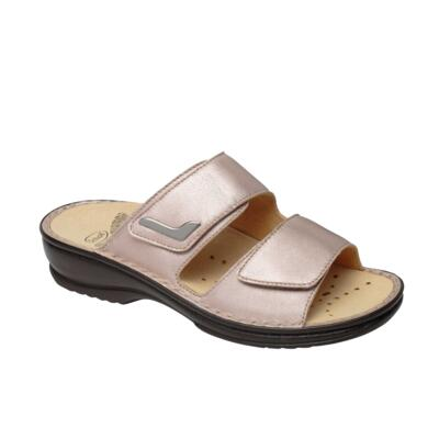 2cfba5f90498 SCHOLL NEW MIETTA WOMEN S FLIP FLOPS DOUBLE STRAP LEATHER BEIGE