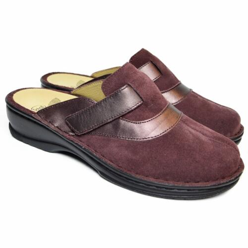 SCHOLL SLIPPER ULRICA DARK WINE WOMAN