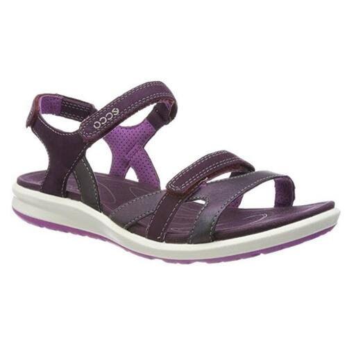 ECCO WOMEN'S SANDALS COMFORTABLE AND LIGHT WITH STRAP CLOSURE CRUISE II  IRIDESCENT/MAUVE/ORCHID