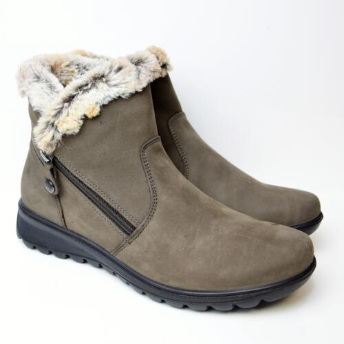 ENVAL SOFT WOMEN'S BOOT WITH WOOL REAL LEATHER TEEK