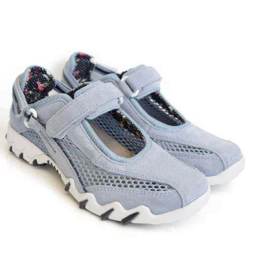 ALLROUNDER BY MEPHISTO NIRO TRACKING SHOES LIGHT BLUE