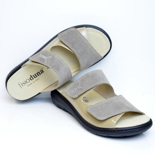 DUNA DOUBLE STRAPS WOMEN'S ORTHOTIC SLIPPERS REMOVIBLE INSOLE