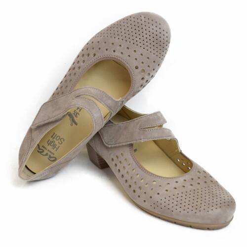 ARA WOMEN'S MARY JANE STYLE SHOES STRAP WIDE FIT REMOVIBLE INSOLE
