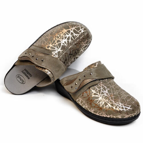 DR.SCHOLL'S GABRIELLA 2.0 HOUSE SLIPPERS REMOVABLE MEMORY FOOTBED