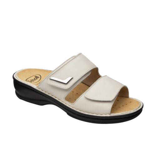 SCHOLL MIETTA WOMEN'S LEATHER SANDALS REMOVABLE INSOLE